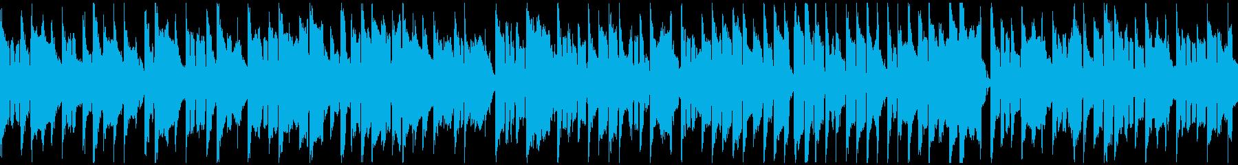 ふにゃふにゃした日常シーン系 ※ループ版の再生済みの波形