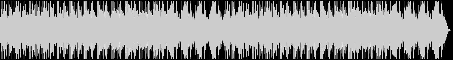 アンビエントなヒーリングBGMの未再生の波形