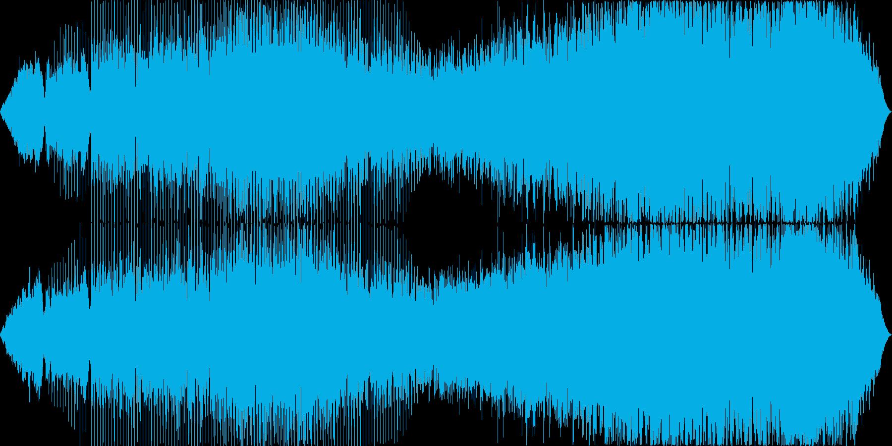 宇宙をイメージしたドラマティックな展開の再生済みの波形
