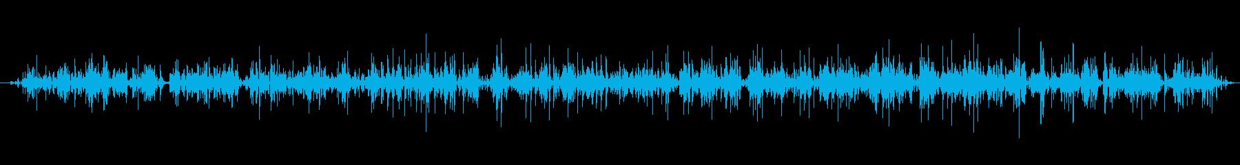 手動フードミキサー:開始、実行、停...の再生済みの波形