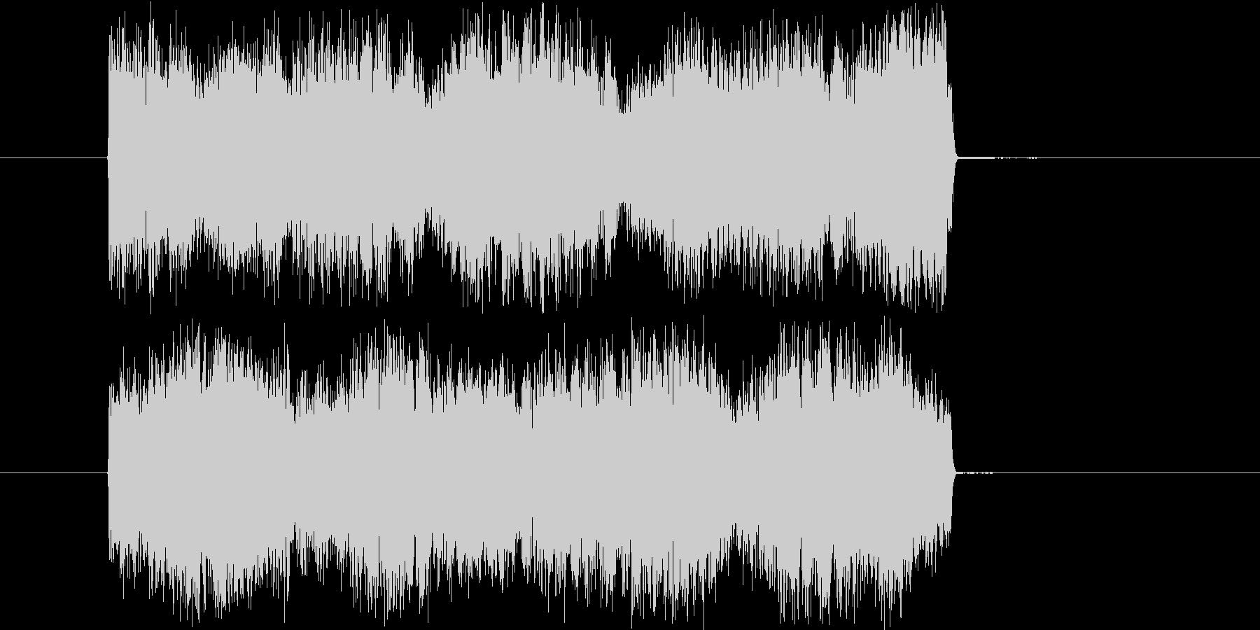 サイレンやビープ等の警告音の未再生の波形