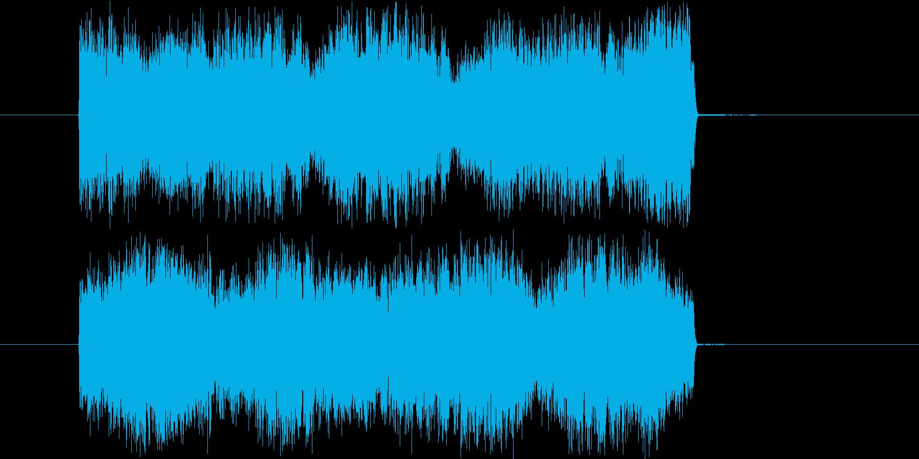 サイレンやビープ等の警告音の再生済みの波形