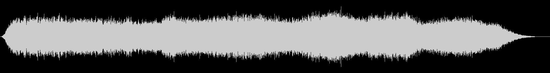 神秘的な雰囲気のアンビエント(背景音7)の未再生の波形