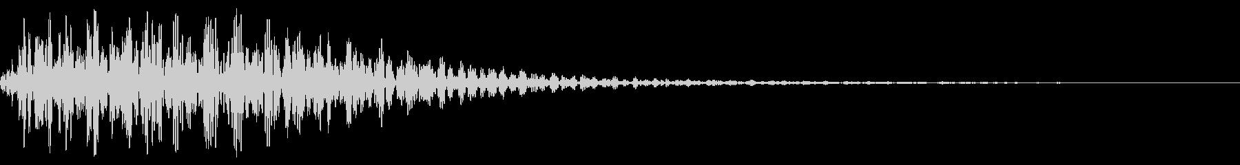 スローサブインパクト、ベース、ロー...の未再生の波形