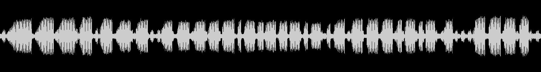 [秋の夜長] 虫の音-アオマツムシの未再生の波形