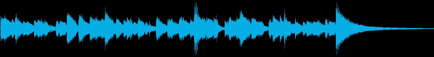 コーナー紹介(jazzyなピアノ)の再生済みの波形