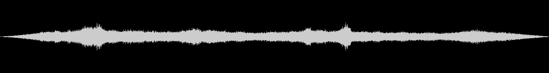 風の効果音(自然、そよ風、ビル風等)06の未再生の波形