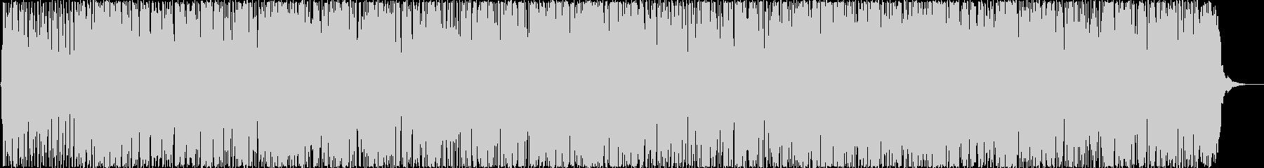 冬に聴くボサノバの未再生の波形