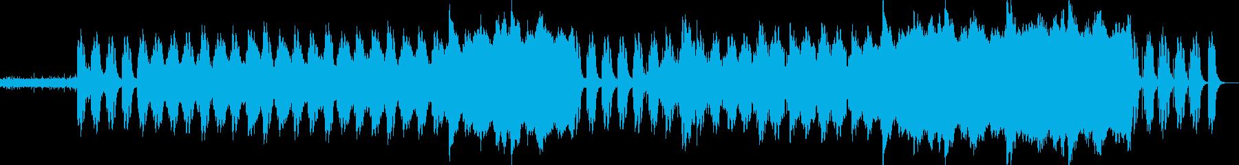 雨→雨上がりをイメージした曲です。の再生済みの波形