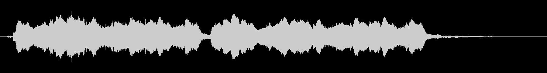 フルートによる、ほのぼの可愛いジングルの未再生の波形