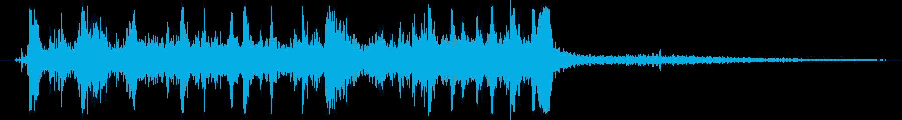 アンティークキャッシュレジスタ:引...の再生済みの波形