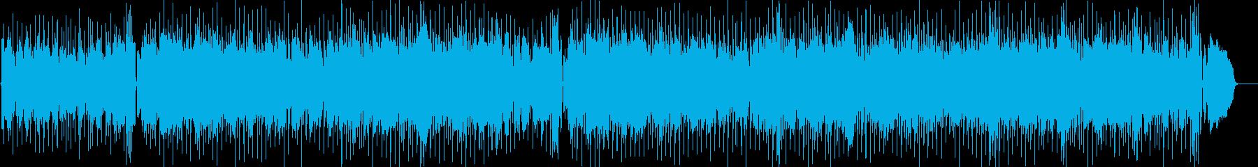 80年代ゲーム風 フュージョン・ポップの再生済みの波形