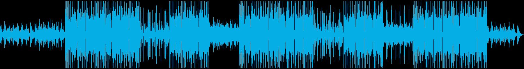 洋楽おしゃれエモいBGMの再生済みの波形