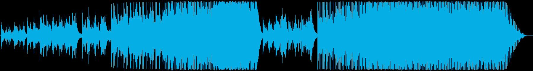 瞑想的なテーマのポップ/ロック楽器...の再生済みの波形