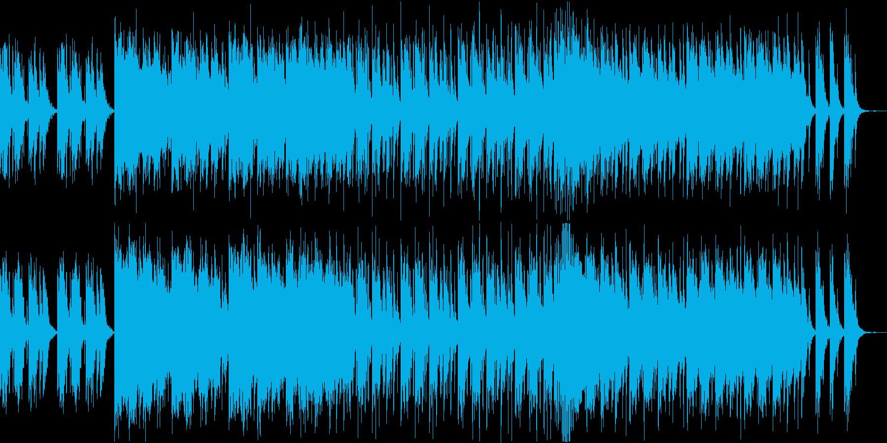 和太鼓メインの和風BGM 修行 開戦前 の再生済みの波形
