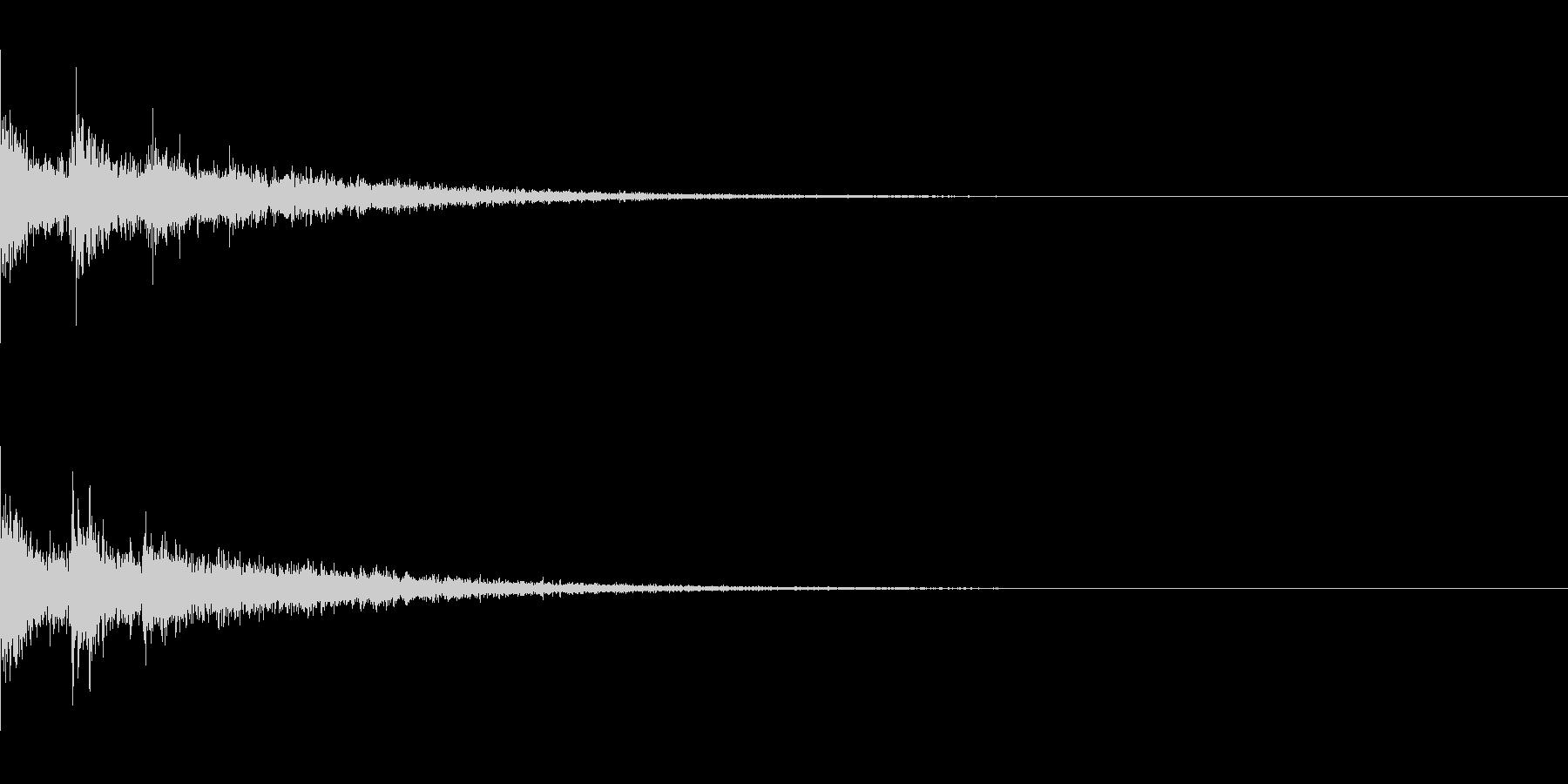 Dark_Attack-15の未再生の波形