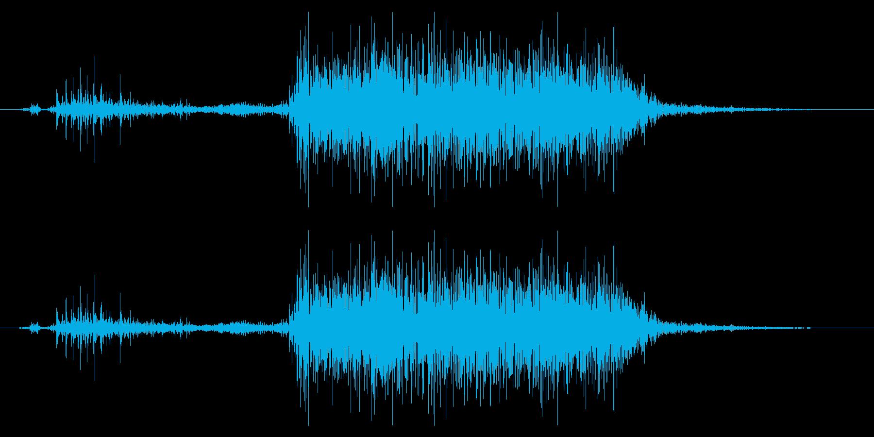 フライング ドラゴン モンスター スキルの再生済みの波形
