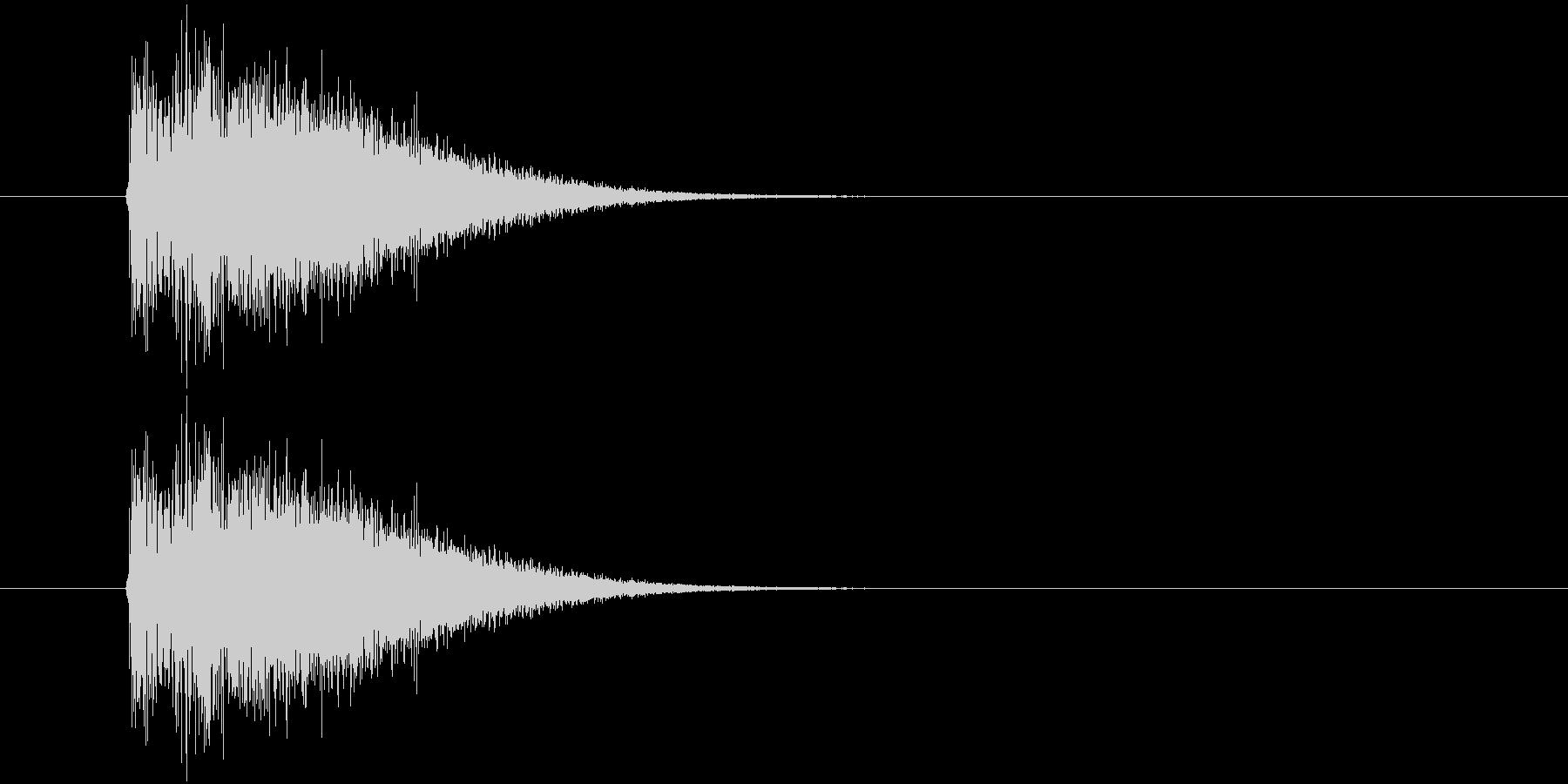 バトルアニメ風効果音_01の未再生の波形