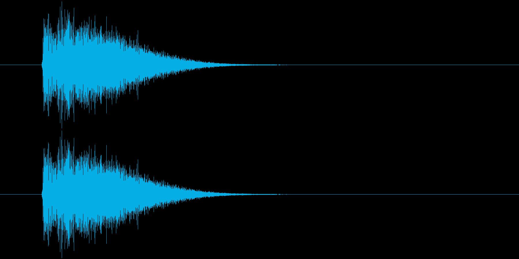 バトルアニメ風効果音_01の再生済みの波形