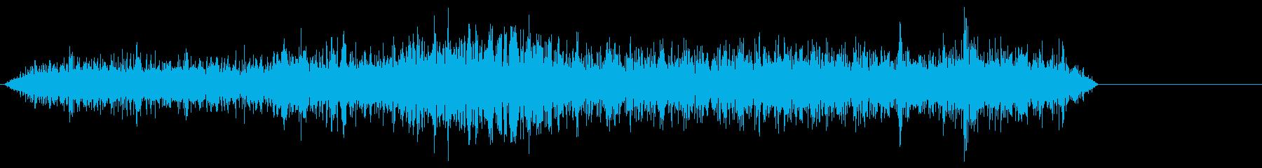 海鳴りの音 ガー ゴー ザーの再生済みの波形