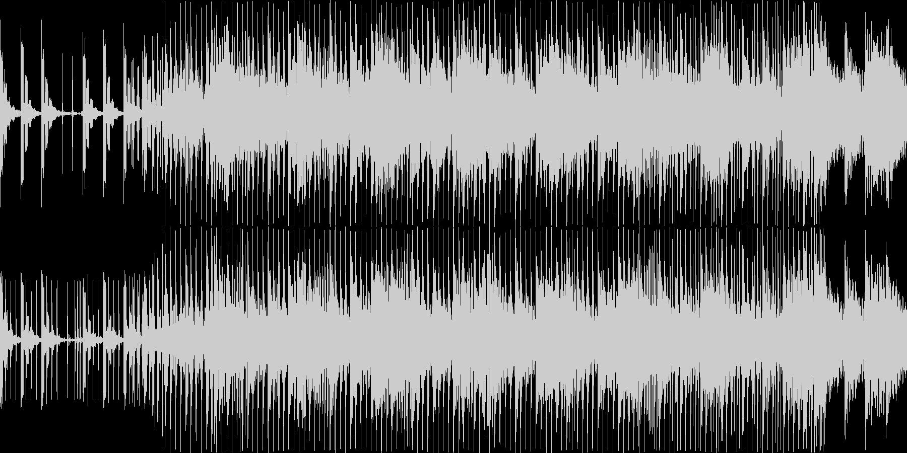 クイズの問題の考え中をイメージして作り…の未再生の波形