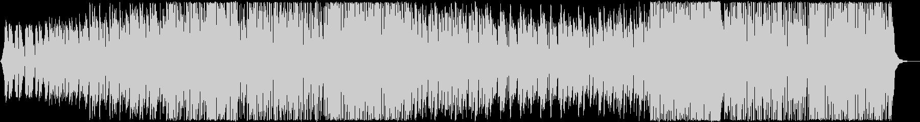 リラックスして聴けるチルアウト系ハウスの未再生の波形