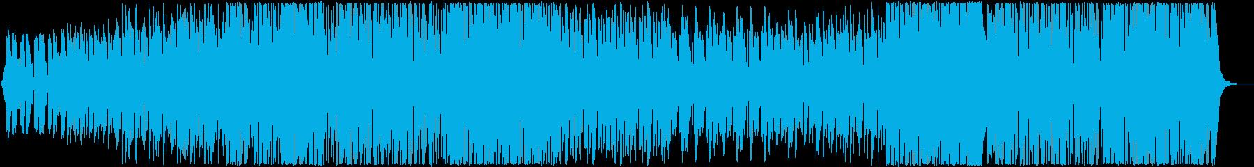 リラックスして聴けるチルアウト系ハウスの再生済みの波形