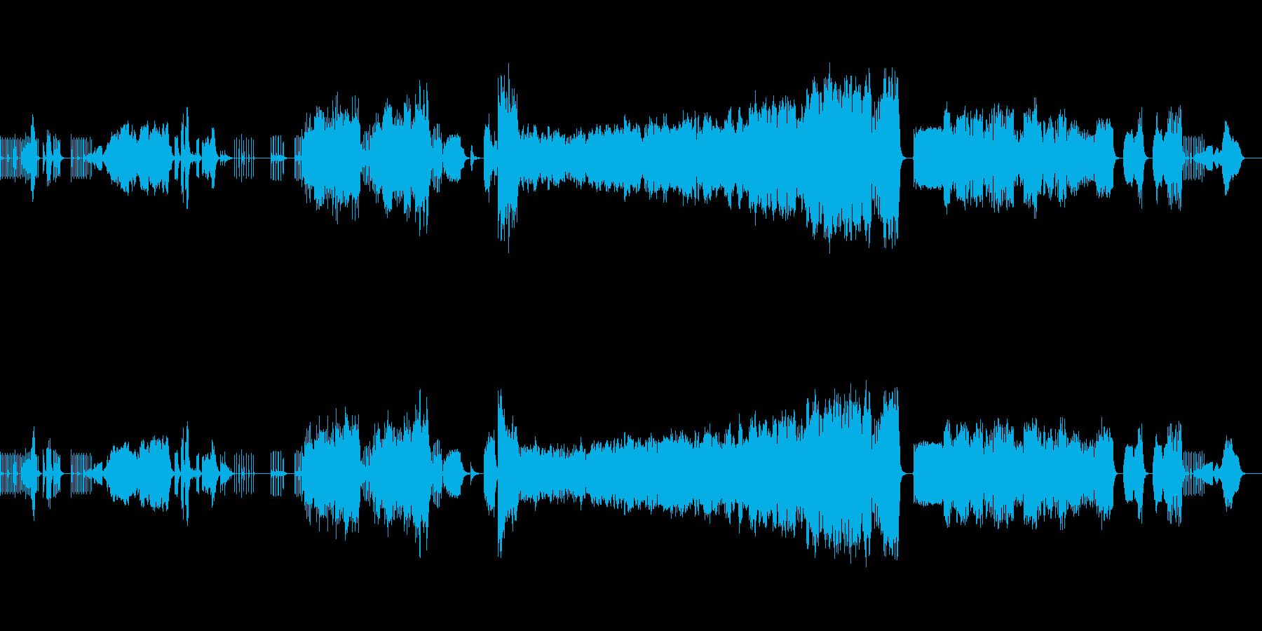 動物たちの野生を12の楽器で表現の再生済みの波形