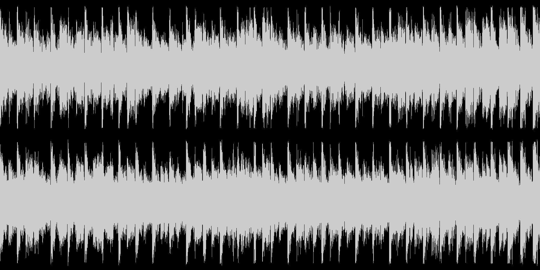 TikTok Dance 可愛い ループの未再生の波形