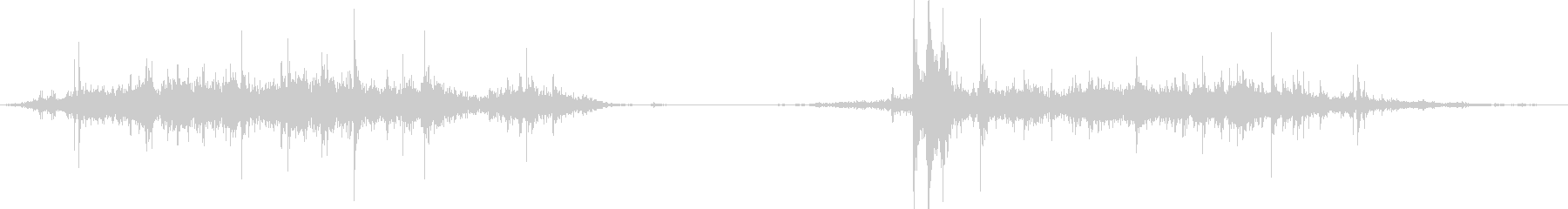 メタル、ムーブメント;の未再生の波形
