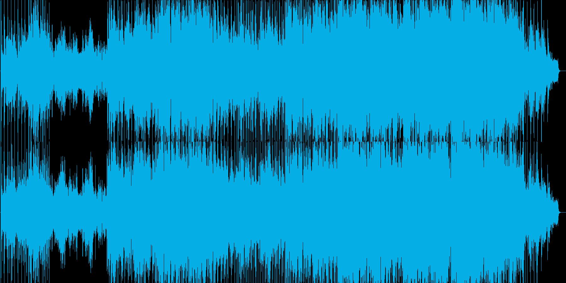 ゆったりとしたメロディのポップバラードの再生済みの波形