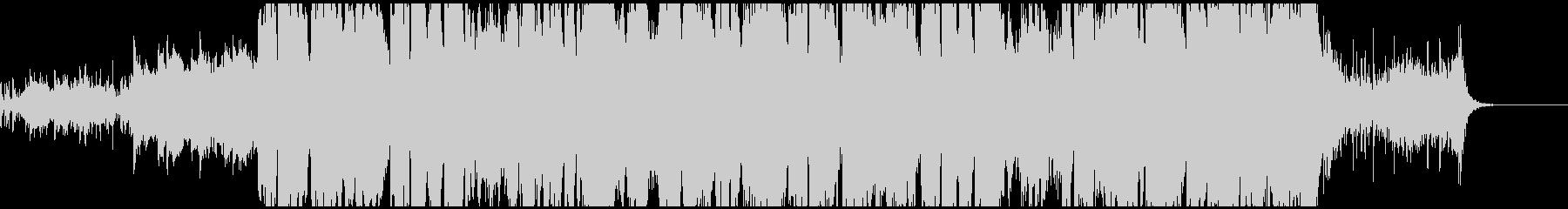 アコーディオンがメインの希望に溢れる曲の未再生の波形