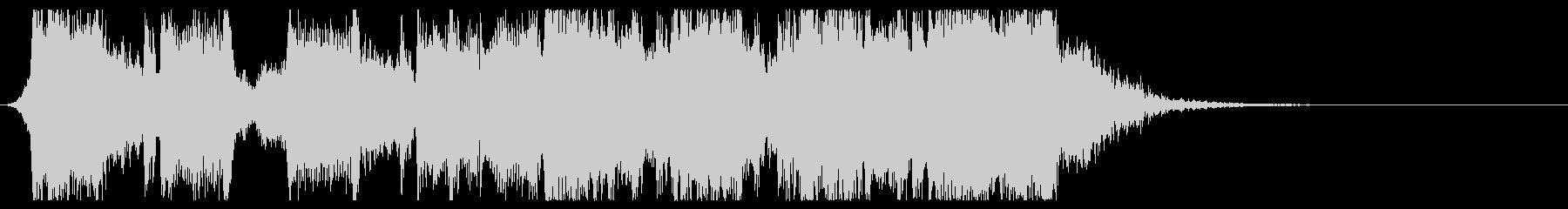 インパクトエピックロックサウンドロゴの未再生の波形