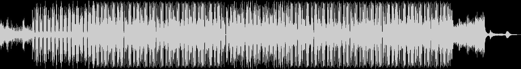 おしゃれオーシャンBGM(波音入り)の未再生の波形