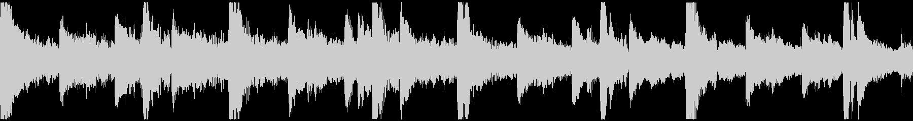 <ショートループ> ピアノ+ビート①_Cの未再生の波形