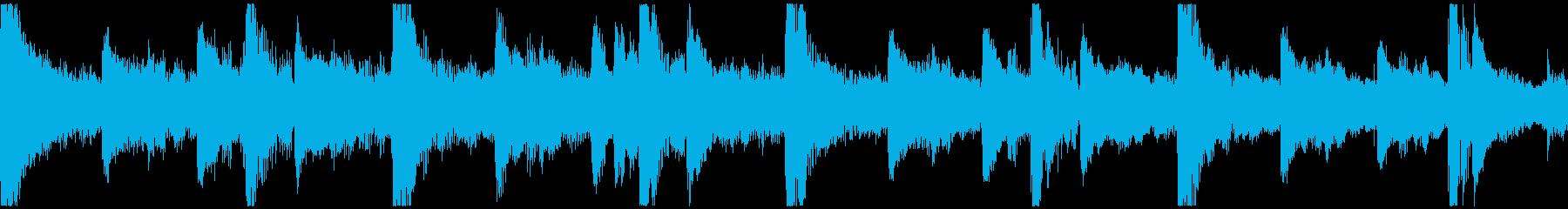 <ショートループ> ピアノ+ビート①_Cの再生済みの波形