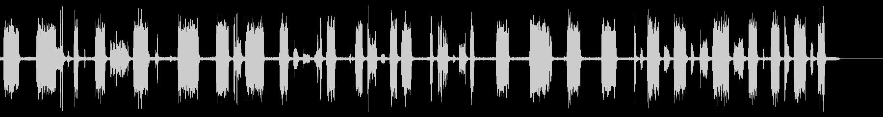 テレビスキャン2で調整するの未再生の波形