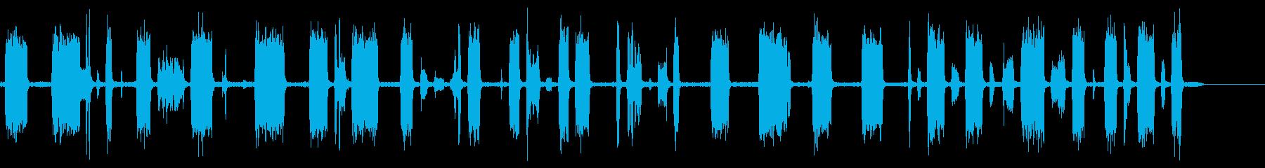 テレビスキャン2で調整するの再生済みの波形