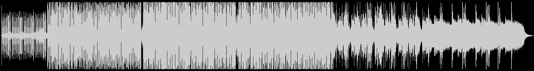 アッパーでグルーヴィーなファンクの未再生の波形