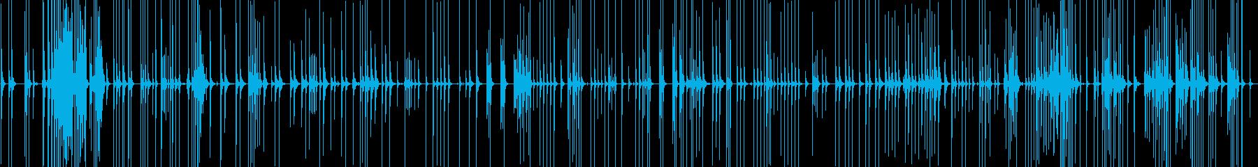 三味線183秋の色種4変態繽紛夢巫山蘭奢の再生済みの波形