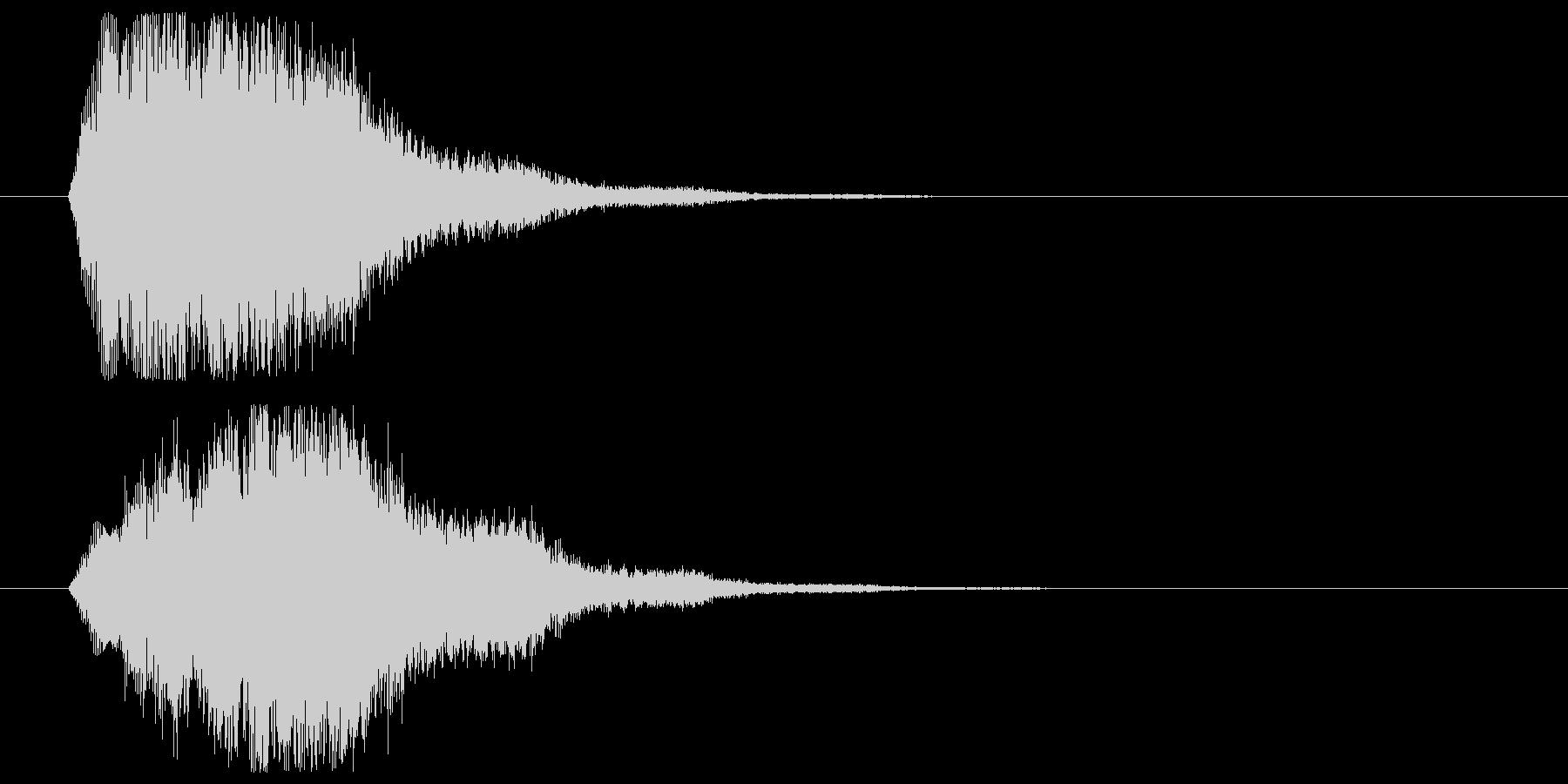 ワイプなど画面移動、場面展開時SEの未再生の波形