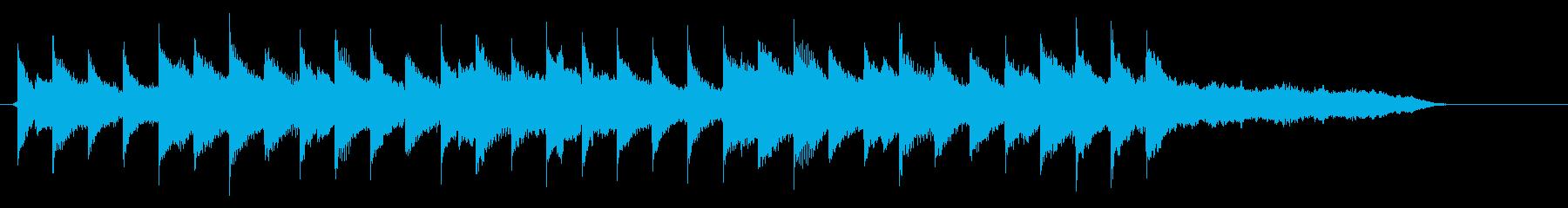 CM30秒、ピアノ、優しい、穏やか、A♭の再生済みの波形