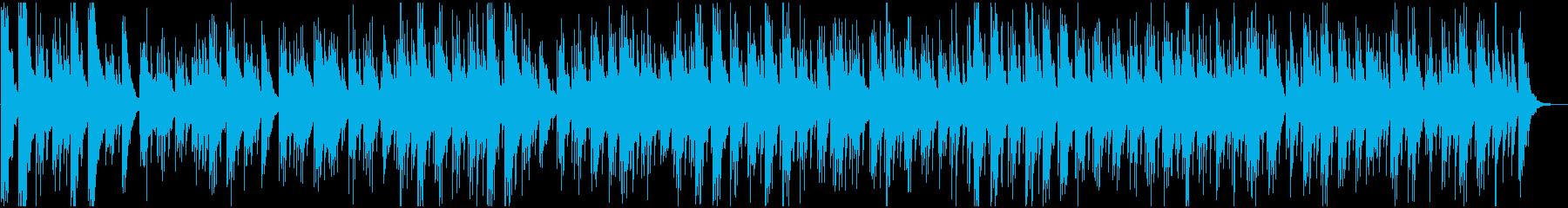 動画・日常 リラックス系ゆったりギターの再生済みの波形