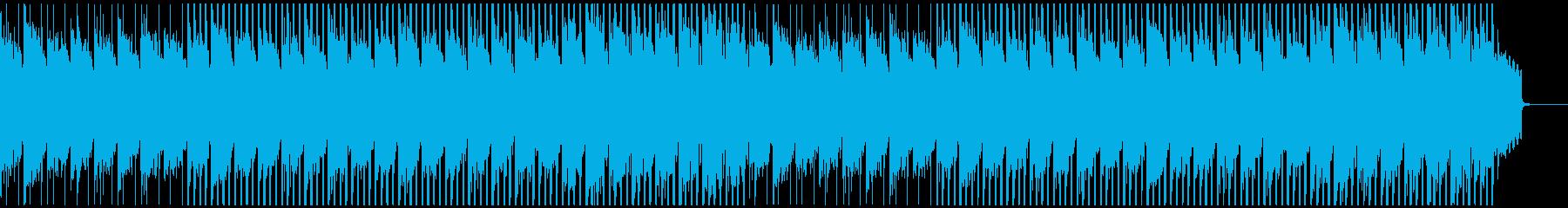 企業VP向け アコギの感動的なハウスの再生済みの波形