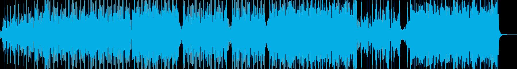 弱肉強食・原始時代イメージのテクノ Aの再生済みの波形