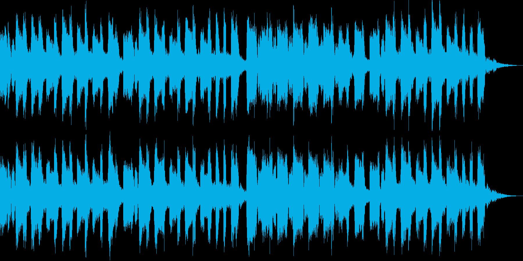 子供向けの穏やかなBGMの再生済みの波形