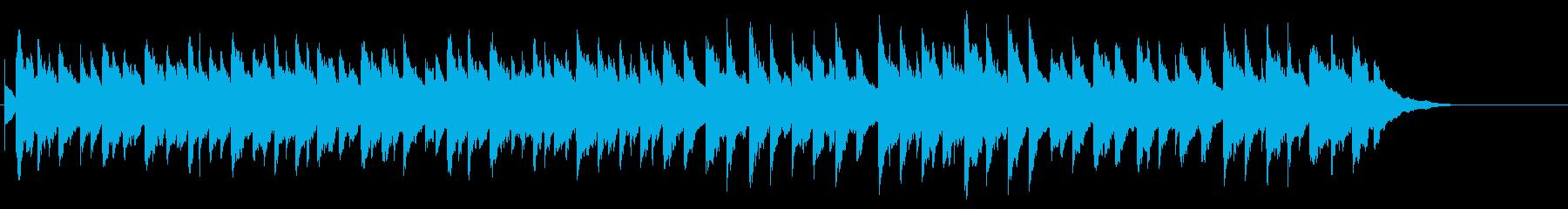 クリスマス曲「ジングルベル」オルゴールの再生済みの波形
