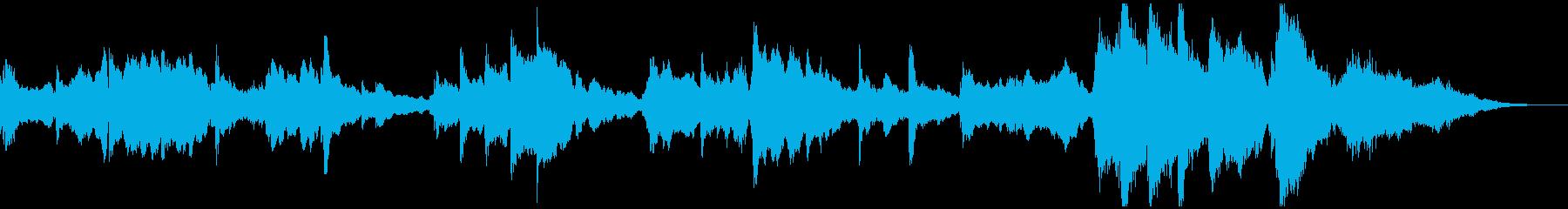 厳か、ファンタジック、クラシカルジングルの再生済みの波形