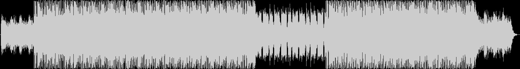疾走感のあるドラムンベースBGMの未再生の波形