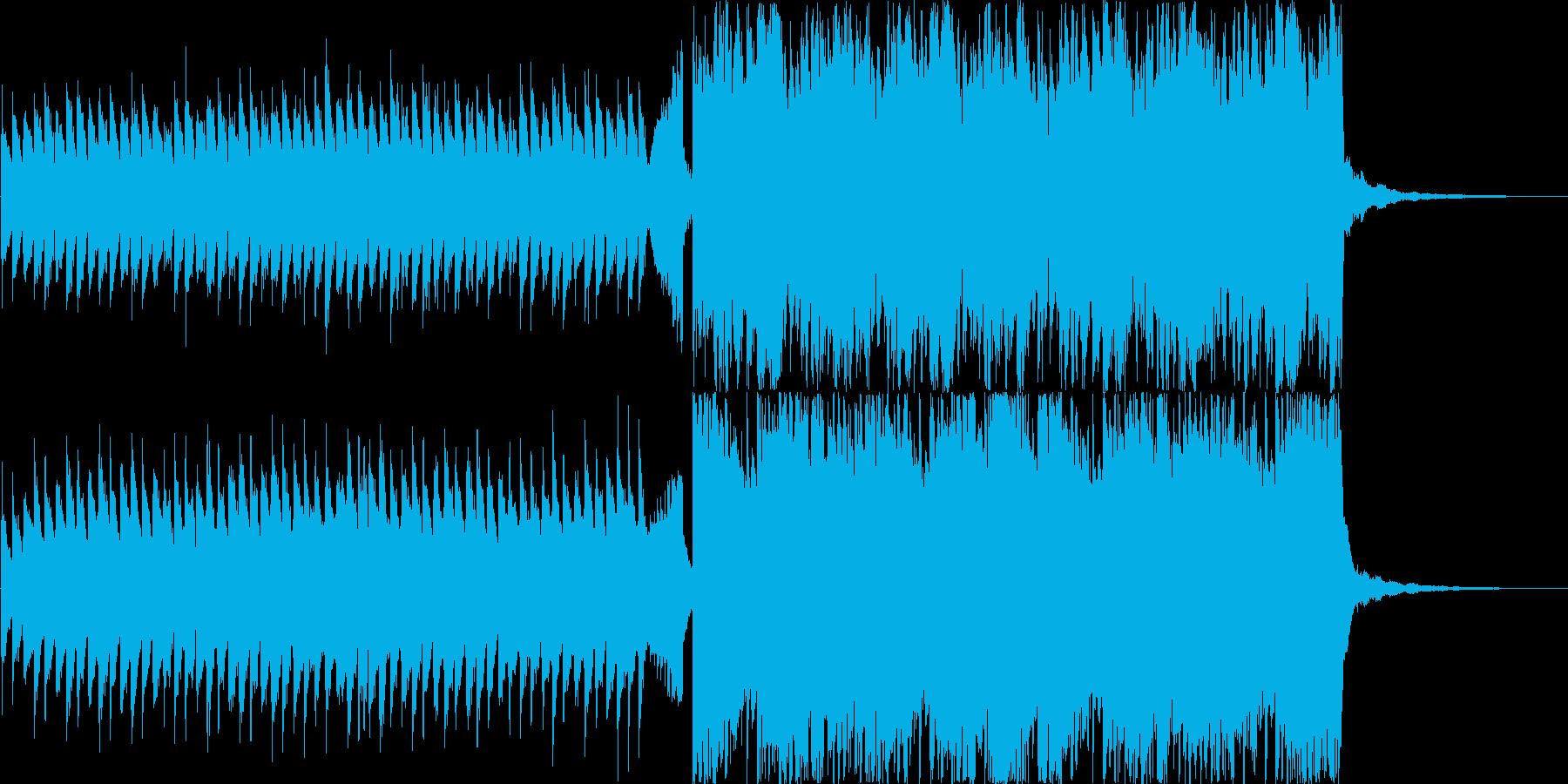 ピアノアンビエント オープニング CMの再生済みの波形